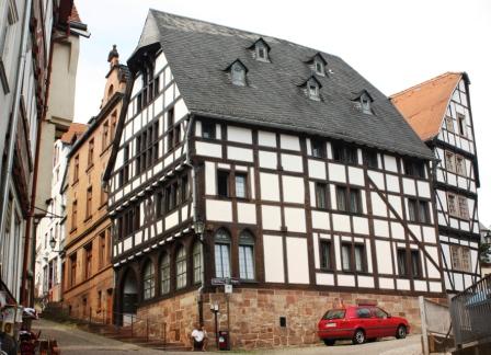 Foto: Fachwerkhaus am Hirschberg